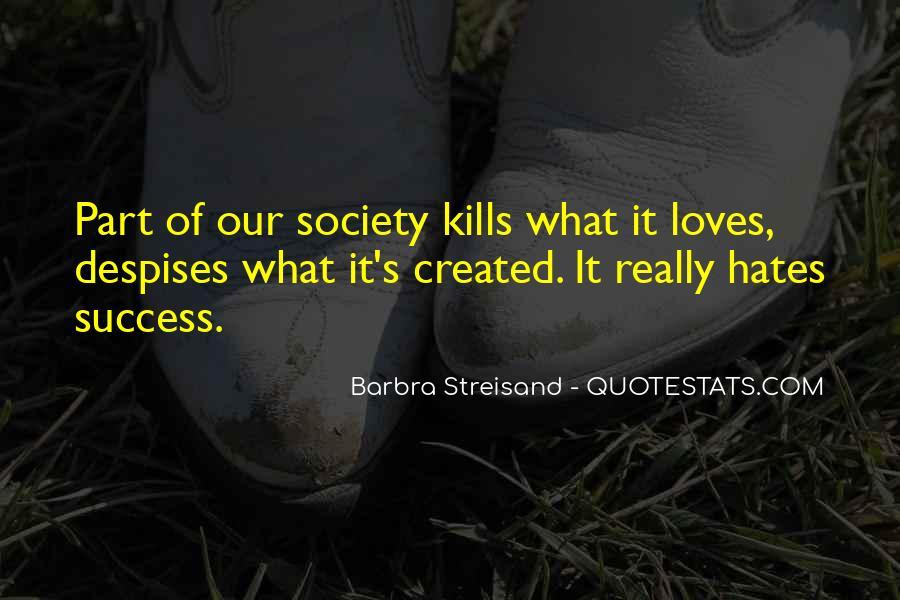 Barbra Streisand The Way We Were Quotes #640586