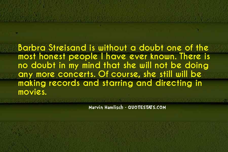 Barbra Streisand The Way We Were Quotes #725198