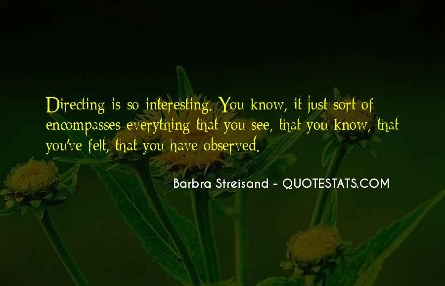 Barbra Streisand The Way We Were Quotes #89104