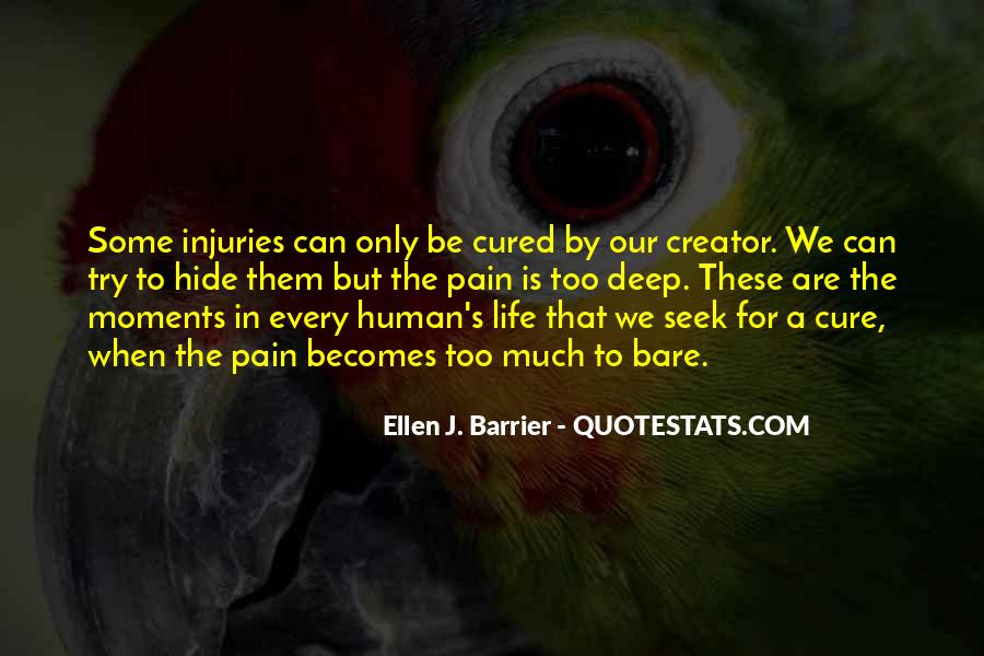 Bare Pain Quotes #104498