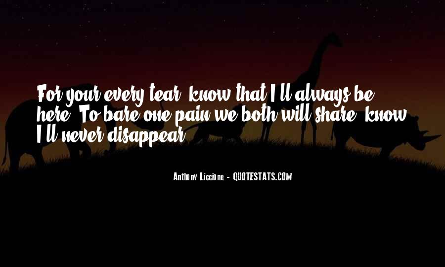Bare Pain Quotes #1192623