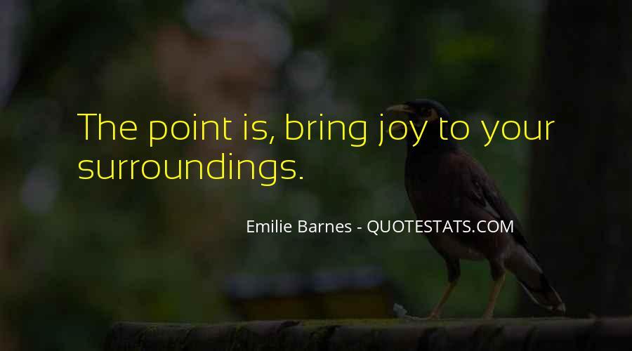 Barnes Quotes #108275