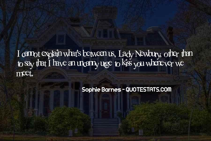 Barnes Quotes #116098