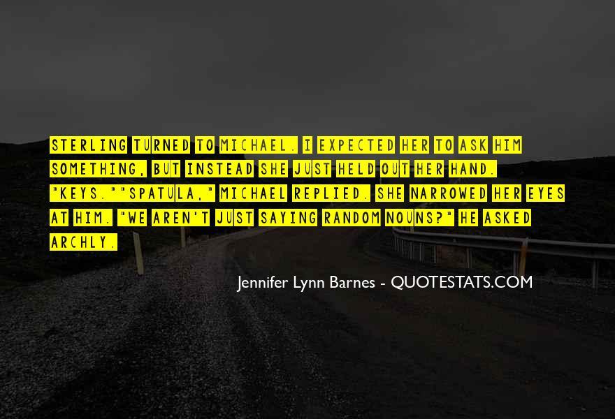 Barnes Quotes #142091