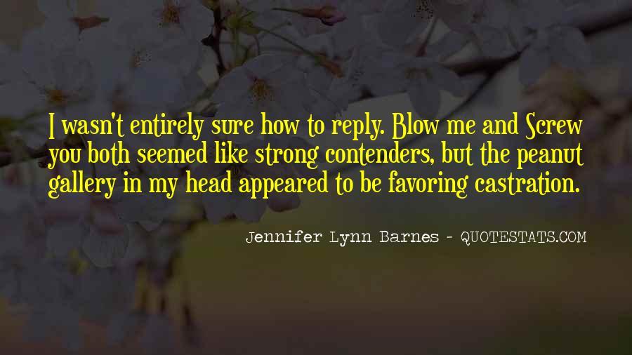 Barnes Quotes #142215