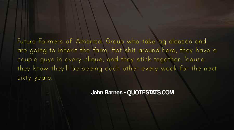 Barnes Quotes #152603