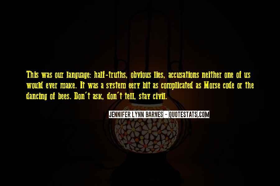 Barnes Quotes #6767