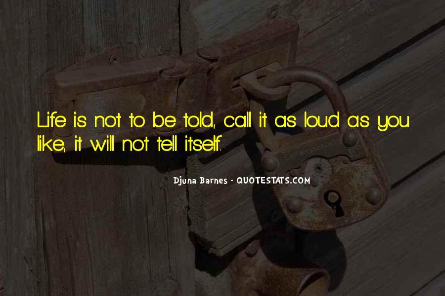 Barnes Quotes #70281