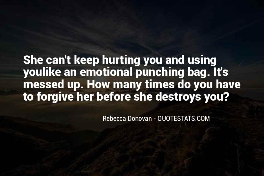 Quotes About Messed #283453