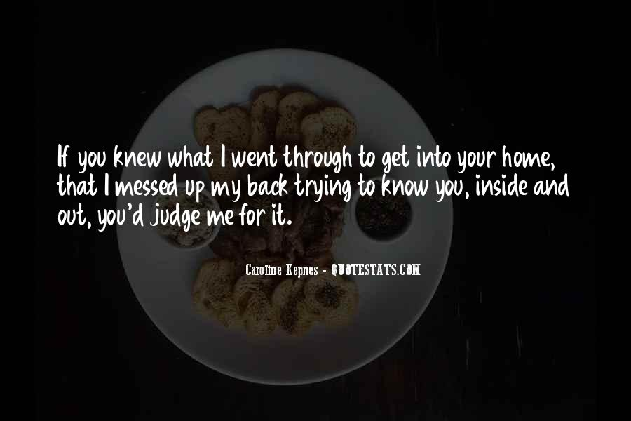 Quotes About Messed #329237