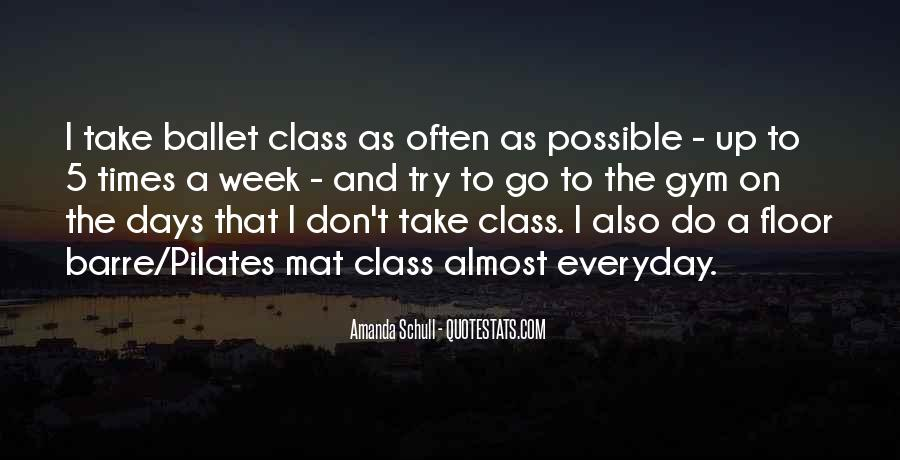 Barre Class Quotes #413233