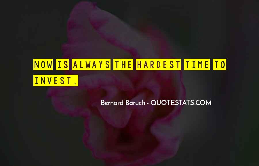 Baruch Quotes #132463