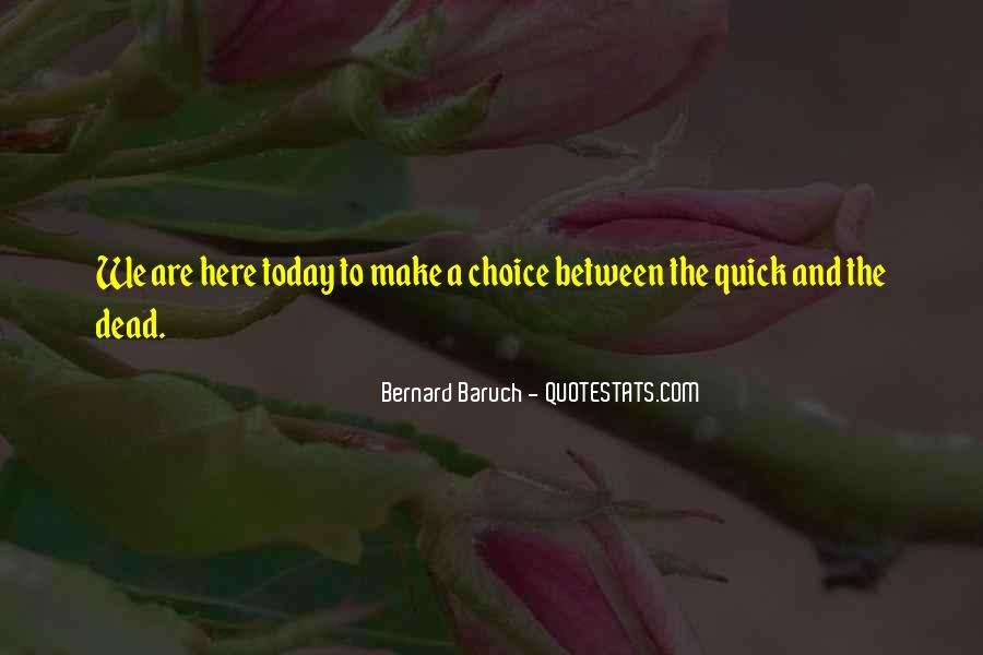 Baruch Quotes #238565