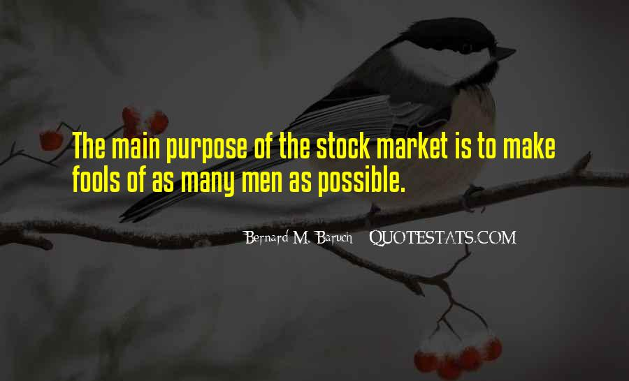 Baruch Quotes #47015