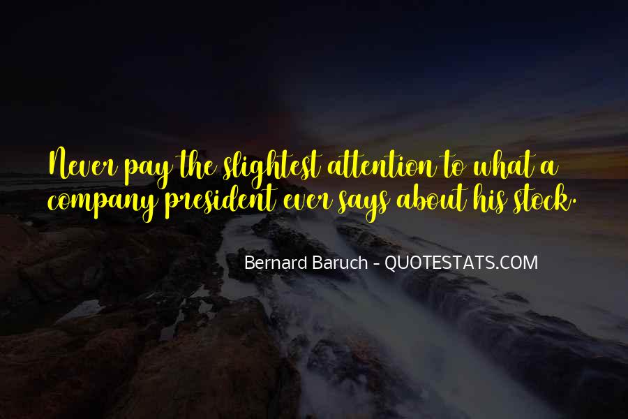 Baruch Quotes #73451