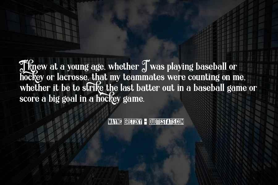 Baseball Strike Out Quotes #1013905