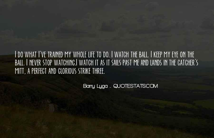 Baseball Strike Out Quotes #1584275