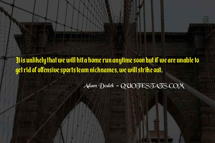 Baseball Strike Out Quotes #1850990