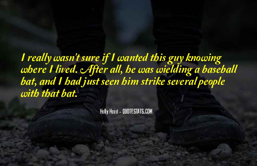 Baseball Strike Out Quotes #330840