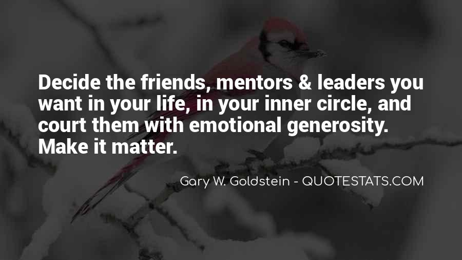 Quotes About Mentors In Life #188478