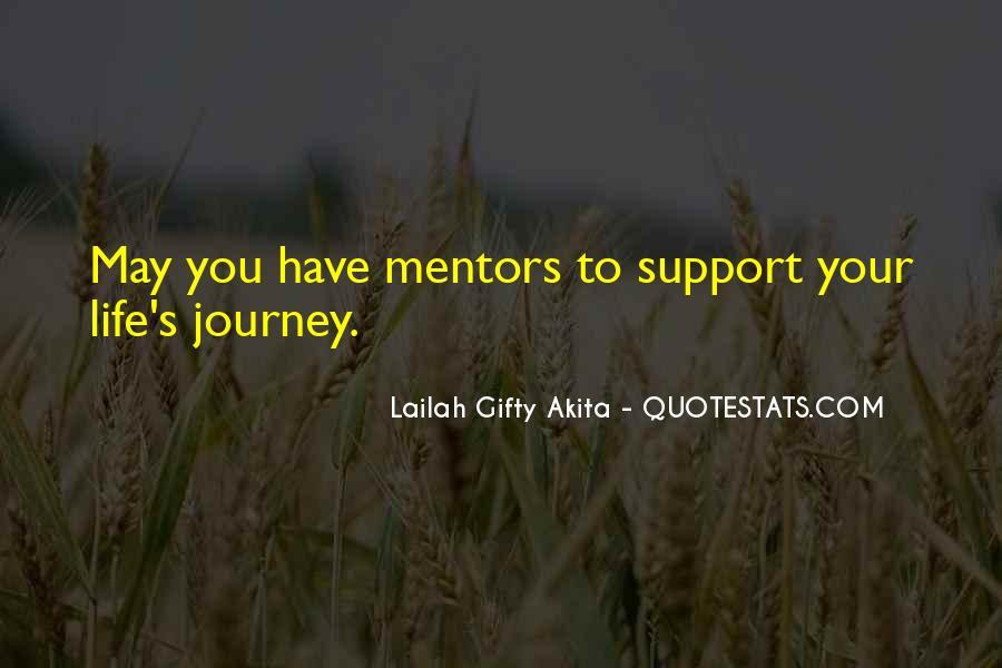 Quotes About Mentors In Life #42349