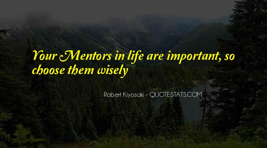 Quotes About Mentors In Life #862897