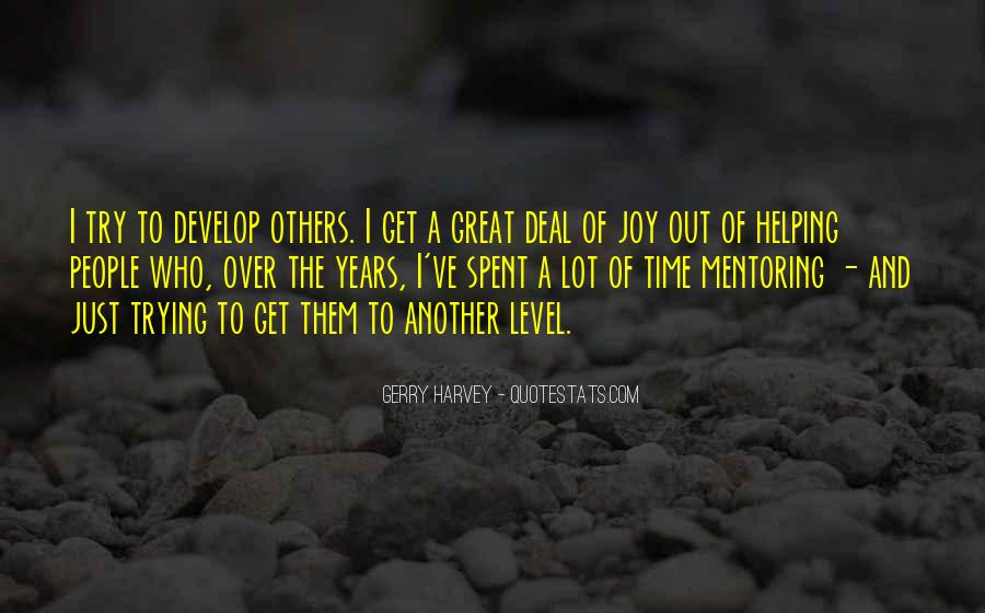 Quotes About Mentoring Others #1121698