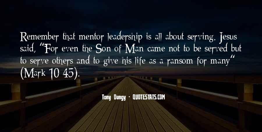Quotes About Mentoring Others #1369559
