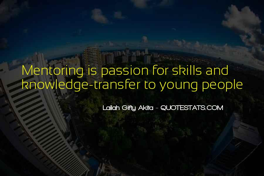 Quotes About Mentoring And Coaching #1346449