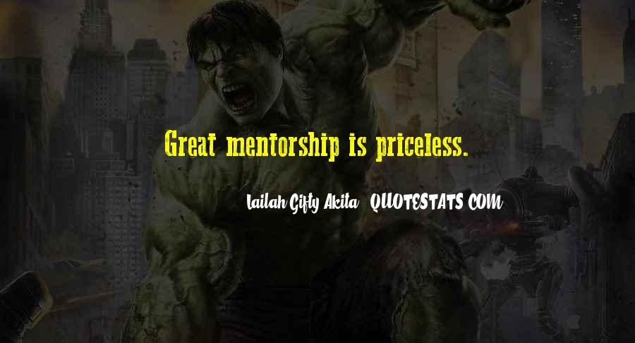 Quotes About Mentoring And Coaching #1793653
