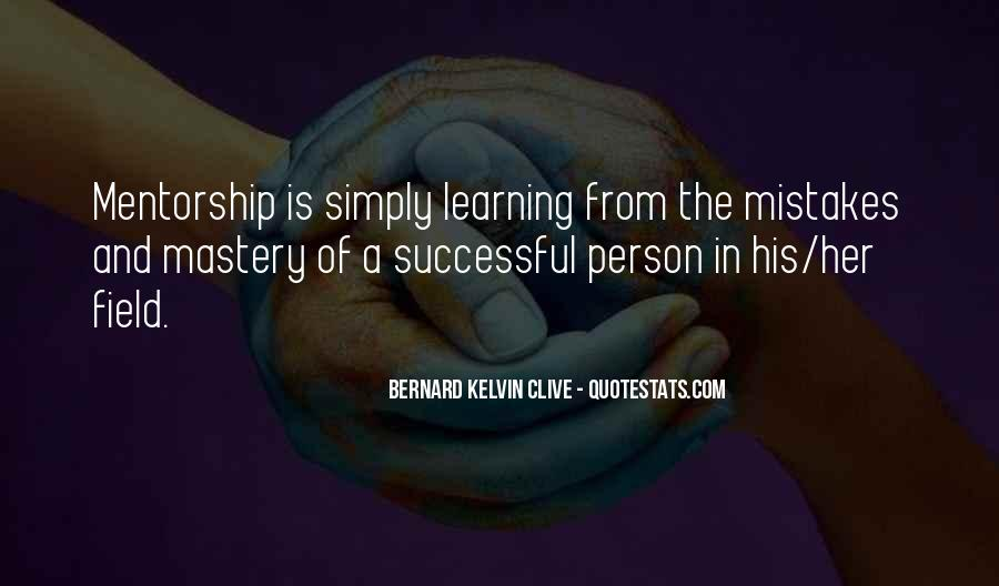 Quotes About Mentoring And Coaching #705774