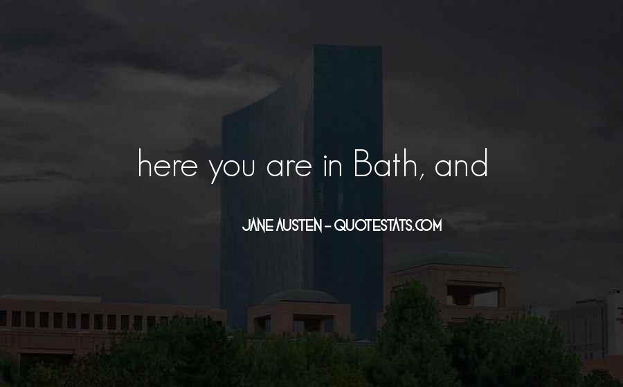 Bath Quotes #356254