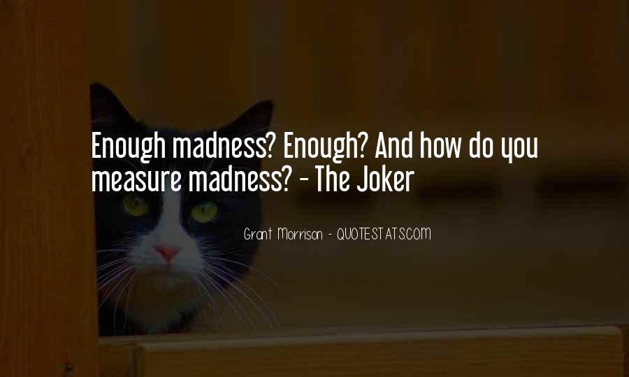 Batman Vs Joker Quotes #1171343