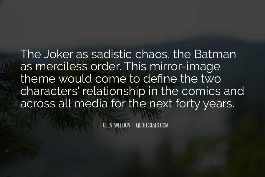 Batman Vs Joker Quotes #1766517