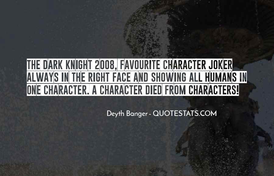 Batman Vs Joker Quotes #41039
