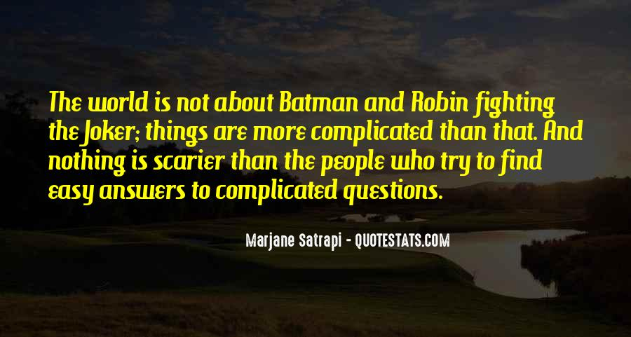 Batman Vs Joker Quotes #475210