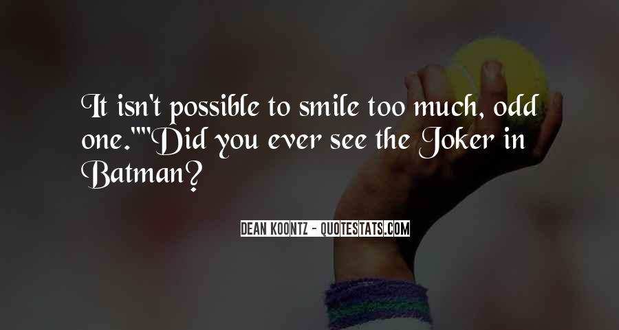 Batman Vs Joker Quotes #541697