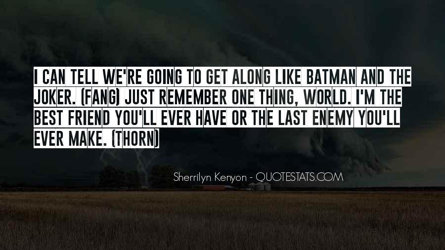 Batman Vs Joker Quotes #921225