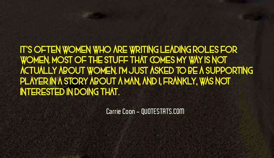 Quotes About Men And Women Roles #1093132