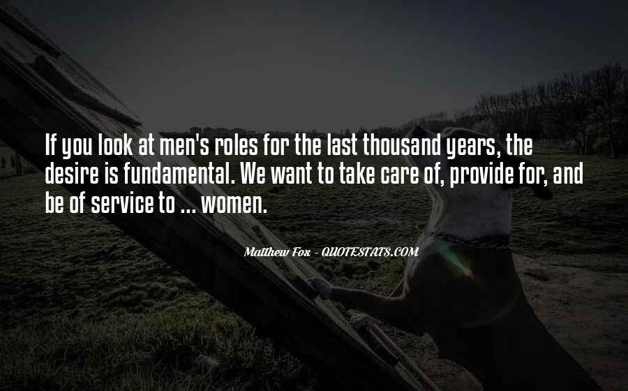 Quotes About Men And Women Roles #1254123