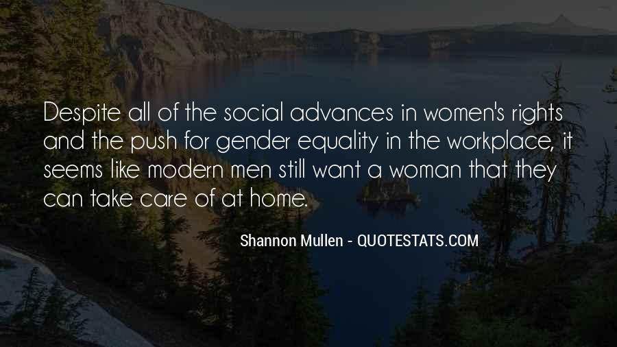 Quotes About Men And Women Roles #139739