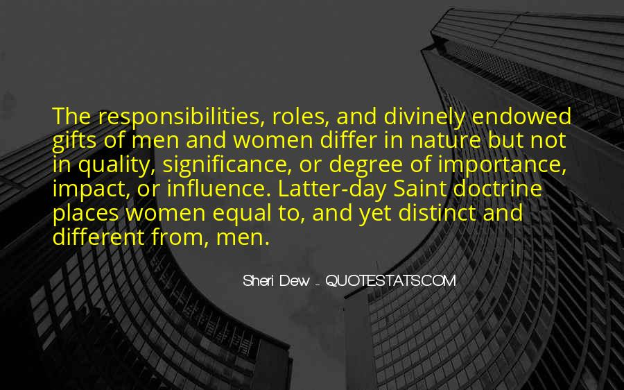 Quotes About Men And Women Roles #1759452