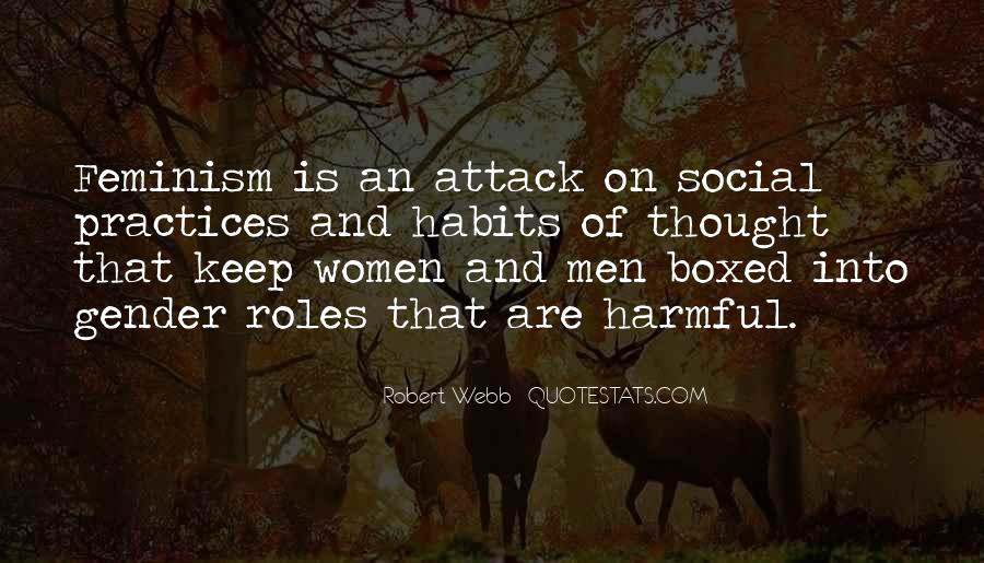 Quotes About Men And Women Roles #1837141