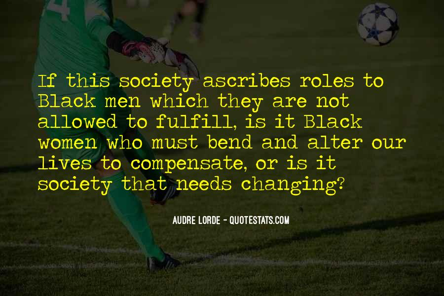 Quotes About Men And Women Roles #635194