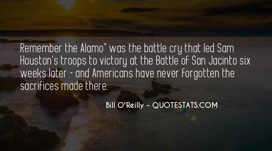 Battle Of San Jacinto Quotes #444699