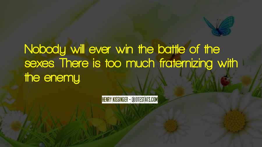 Battle Of Sexes Quotes #1230558