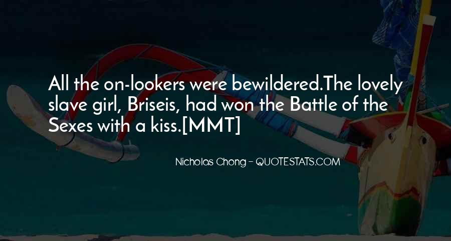 Battle Of Sexes Quotes #1641863