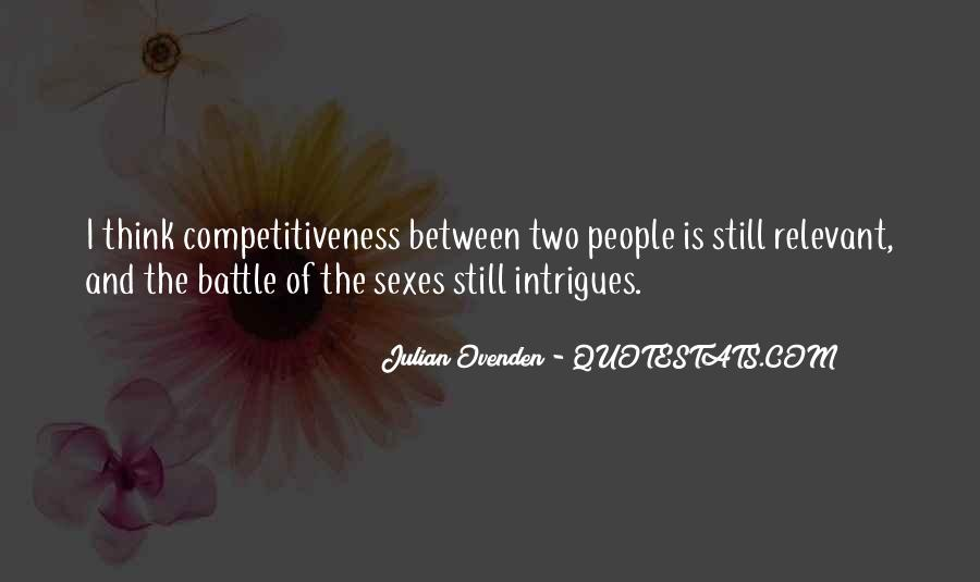Battle Of Sexes Quotes #614093
