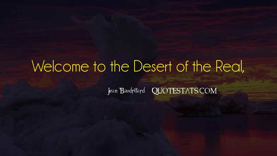 Baudrillard Quotes #104748