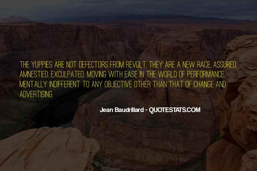 Baudrillard Quotes #140240
